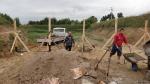 Budowa przechwytów lipiec, sierpień 2013